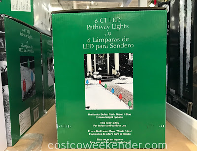 Light up your home's exterior with LED Pathway Lights