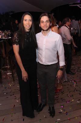 Paola Flores y Manuel Pérez
