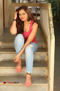 Tollywood Actress Ashwini Latest Stills in Ripped Jeans  0174.JPG