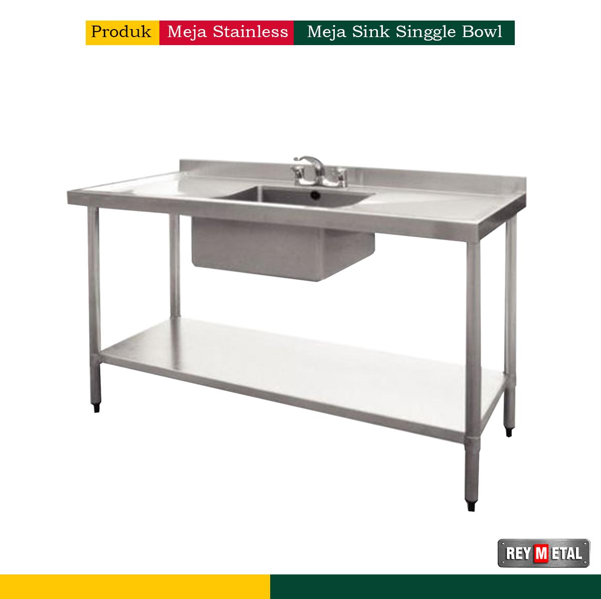 Meja sink stainless steel murah