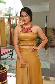 Actress Simrat Juneja Pictures in Golden Long Dress  0040.JPG