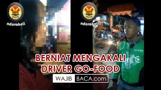 Wanita ini Pesan Go-Food di Warung Sendiri, Sudah Dibeli Driver Malah Dicancel