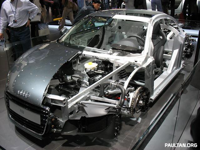 Rangka AFS Pada Audi R8