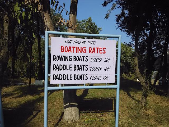boating in damdama