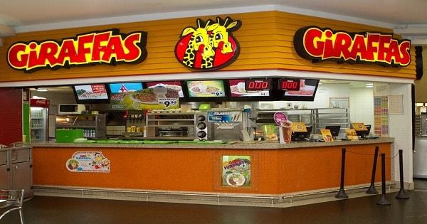 Rede Giraffas contrata Atendente de Fast Food Sem Experiência no RJ