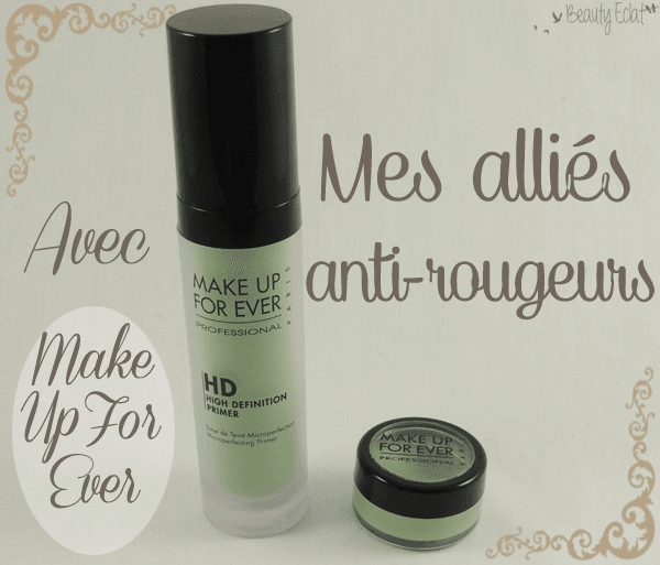 base verte make up for ever