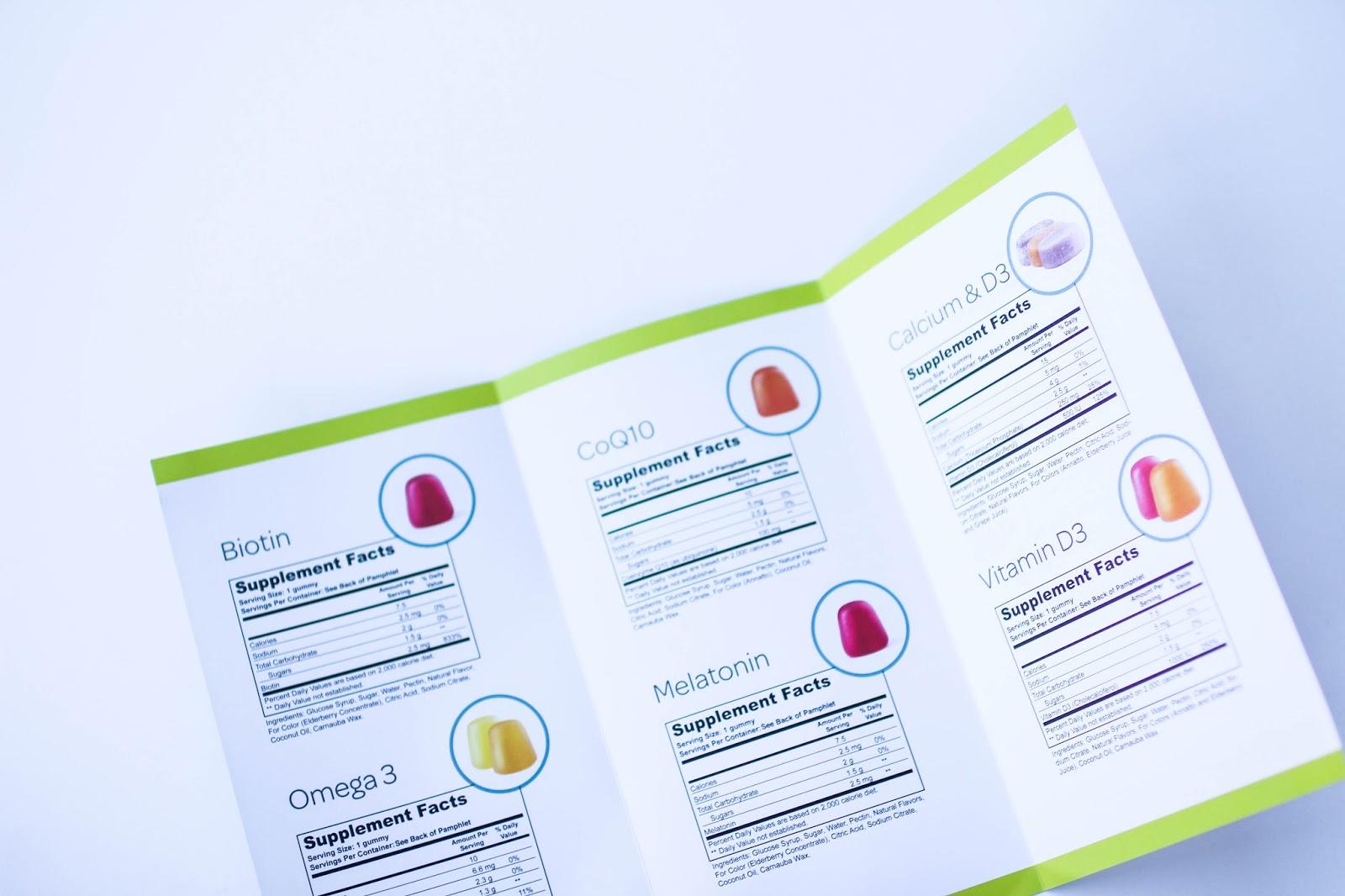VitaFive gummy vitamin pack review. | A.Viza Style | dc blogger.