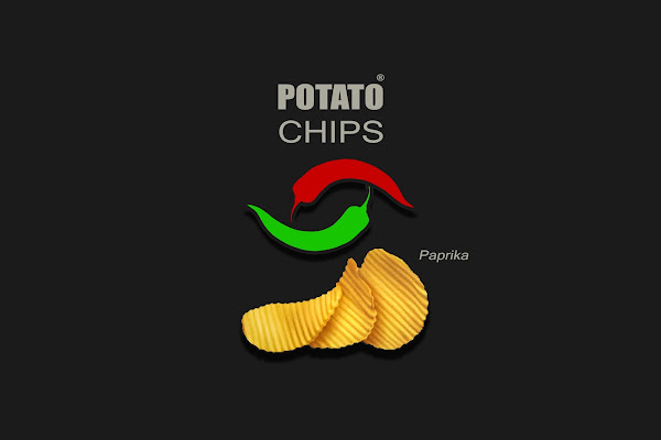 unique potato chips packaging design ideas