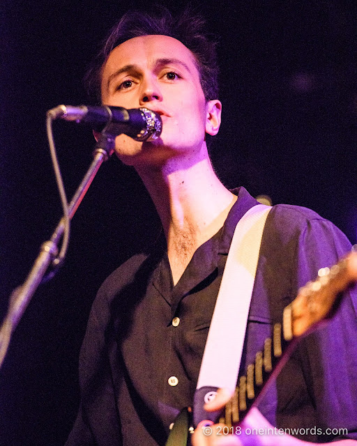 Ought at Lee's Palace on March 7, 2018 Photo by John at One In Ten Words oneintenwords.com toronto indie alternative live music blog concert photography pictures photos