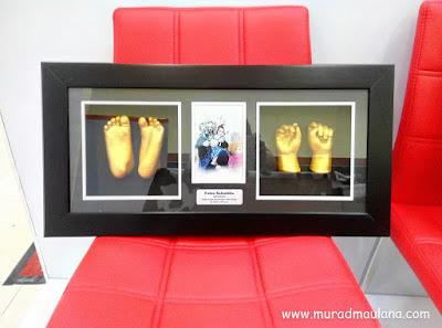 Cetak tangan dan kaki bayi