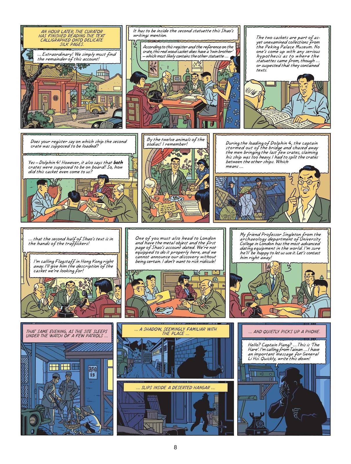 Read online Blake & Mortimer comic -  Issue #25 - 10