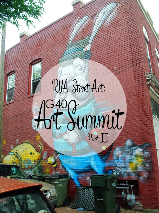 RVA Street Art: G40 Art Summit (Part 2) | Yeti Crafts
