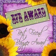 My 1st BFB Award