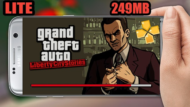 SAIUU!! GTA LIBERTY CITY STORS 249MB PPSSPP ANDROID