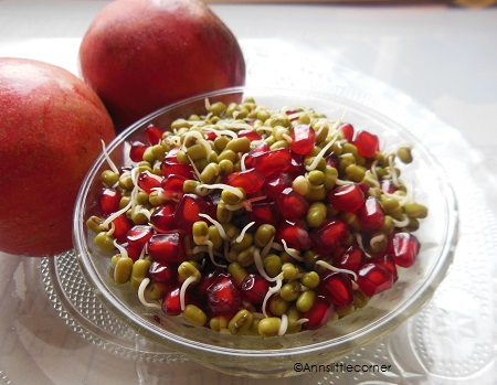 greengram/Pomegranate Salad