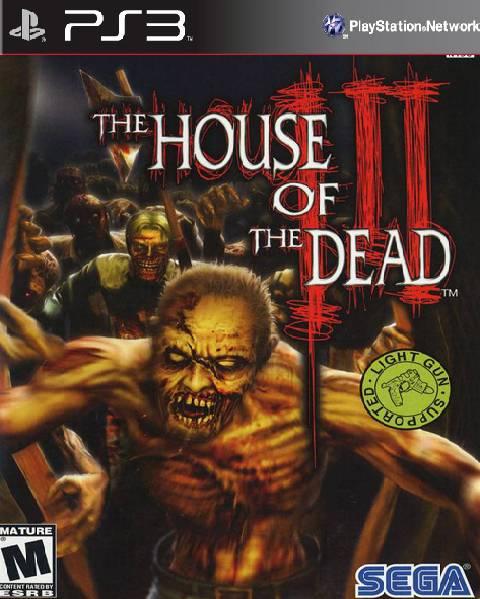 Kết quả hình ảnh cho House of the Dead 3 cover ps3
