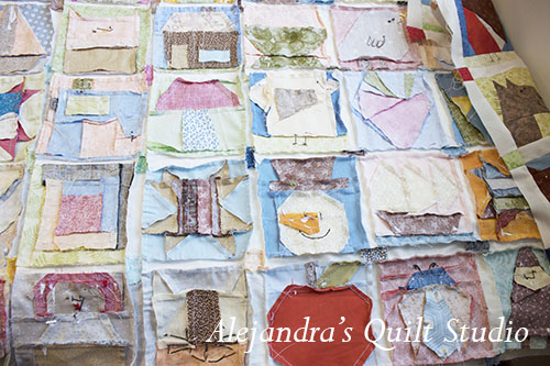 Como hacer una quilt con el Patchwork