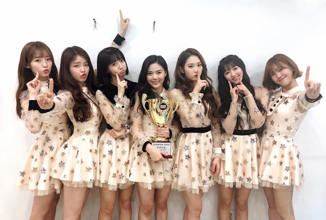 Music Show Oh My Girl Win