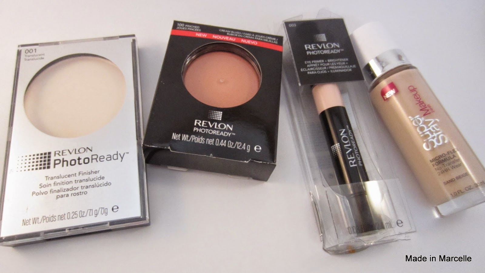 2464023e192 First up, face products. Revlon is also having a seperate promotion where  they give either the face or eye primer for any Photo Ready products  purchased so ...
