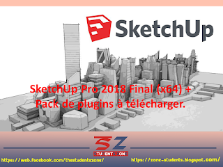 SketchUp Pro 2018 Final (x64) + Pack de plugins à