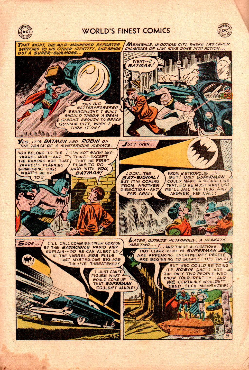 Read online World's Finest Comics comic -  Issue #78 - 5