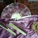 souvenir kipas batik sedang