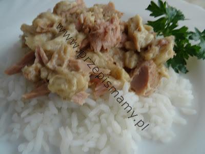 Ryż w sosie tuńczykowym