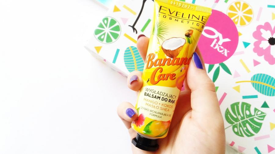 Kto ukradł banana? || Eveline Cosmetics • Banana Care, Wygładzający balsam do rąk