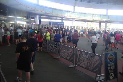 Entrada dos parques da Universal no final de fevereiro/2016