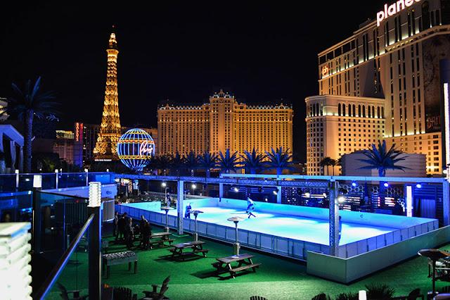 Patinação no gelo em Las Vegas