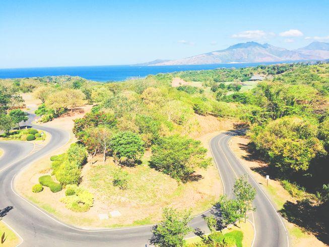Roads inside Anvaya Cove