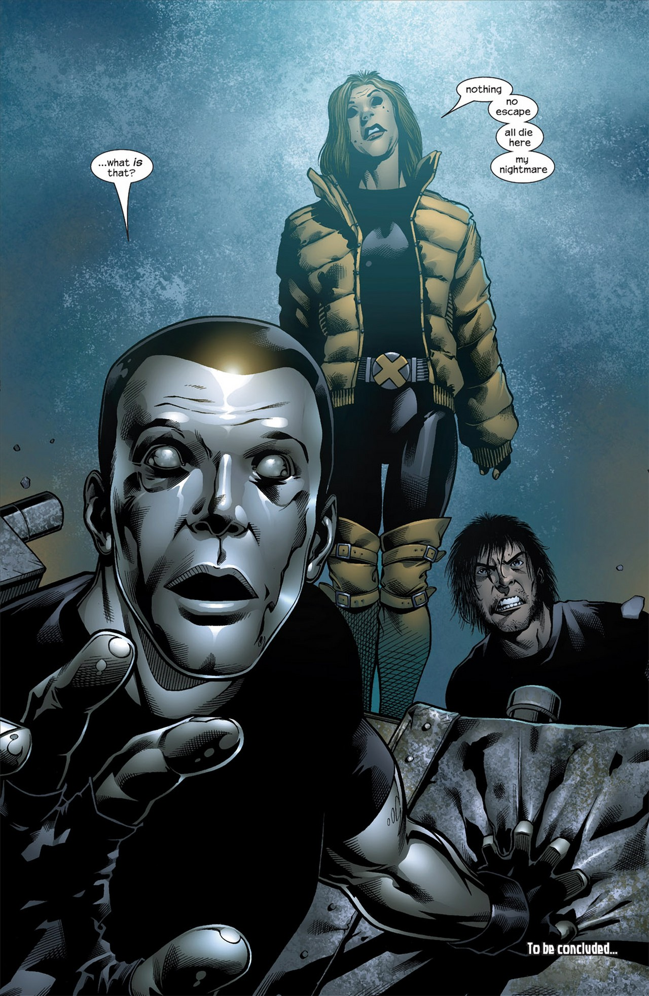 Read online Ultimate Nightmare comic -  Issue #4 - 23
