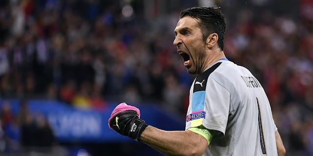 Gianluigi Buffon Italie Euro 2016