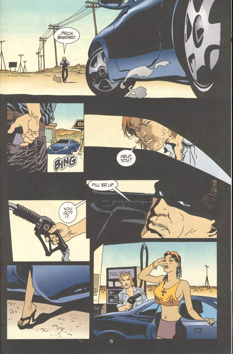 Read online 100 Bullets comic -  Issue #28 - 7