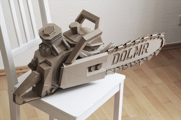 Cardboard Sculpture Art