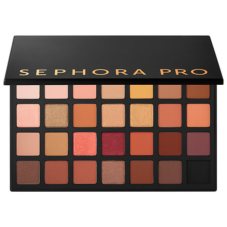 54ae22c721a This deluxe eyeshadow palette with 38 warm color story shades comes  complete with a how-to tuturorial pamphlet written by the SEPHORA PRO  Artists.