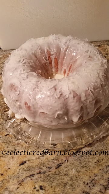 Eclectic Red Barn: Coconut Bundt Cake