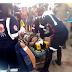 Homem fica ferido após acidente envolvendo motos