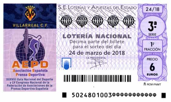 Decimos del sorteo de loteria nacional del sabado 24 de marzo