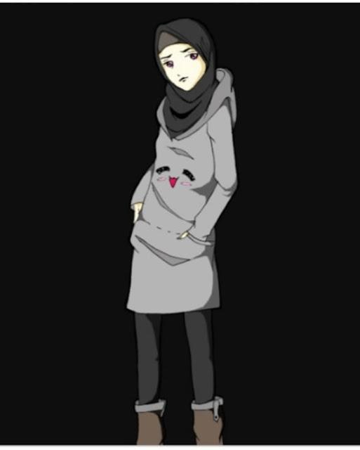 Beautiful Hijab Animation