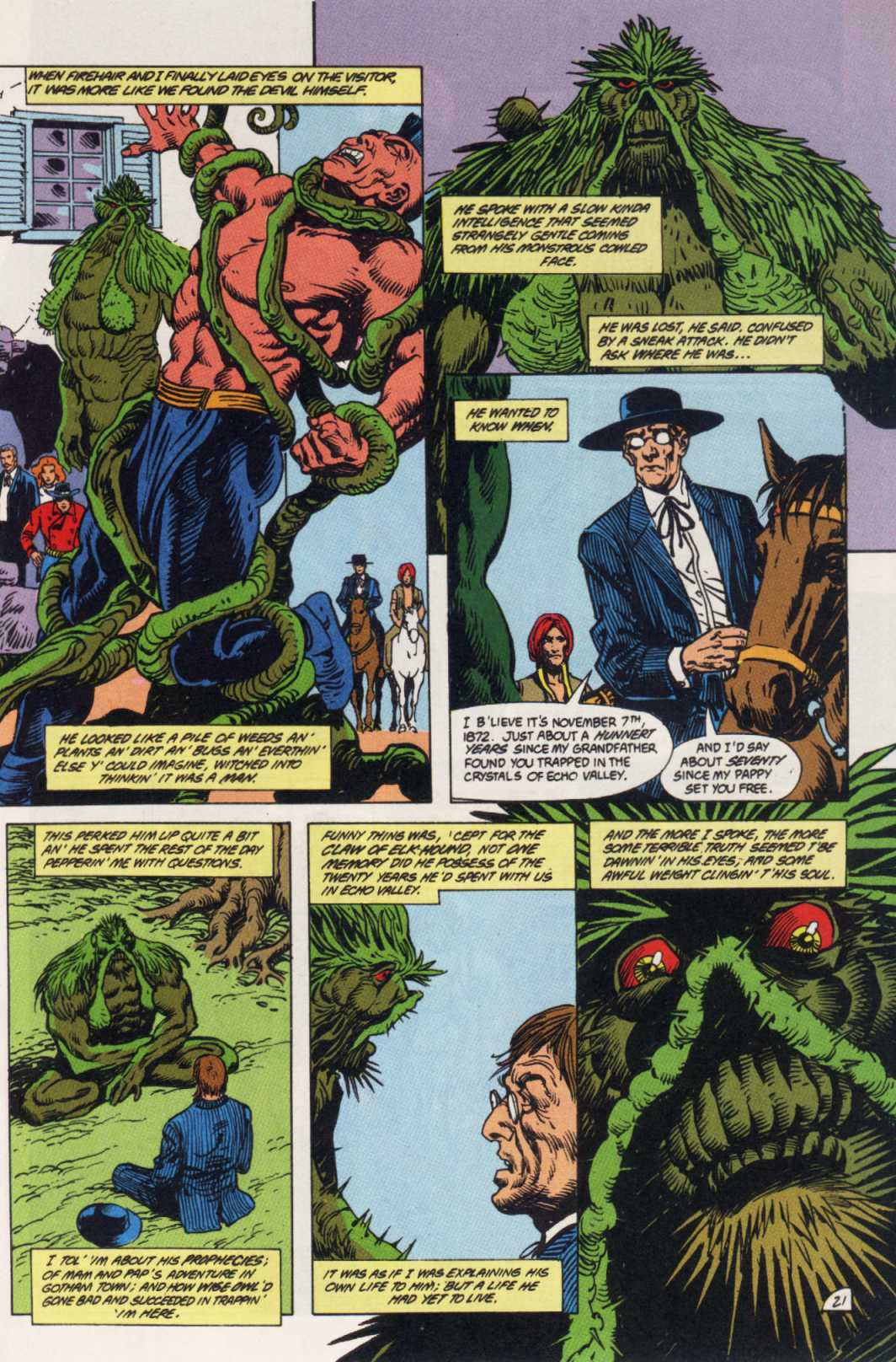 Swamp Thing (1982) Issue #85 #93 - English 21