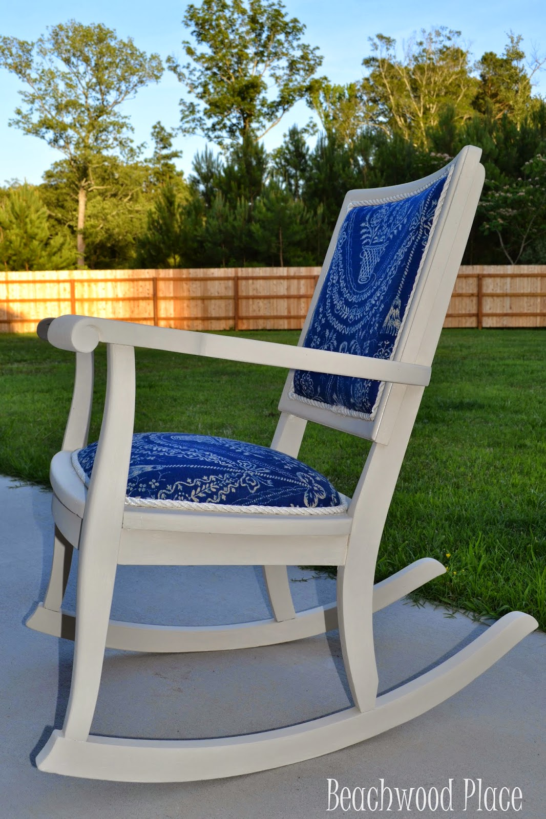 Beachwood Place Rocking Chair Makeover
