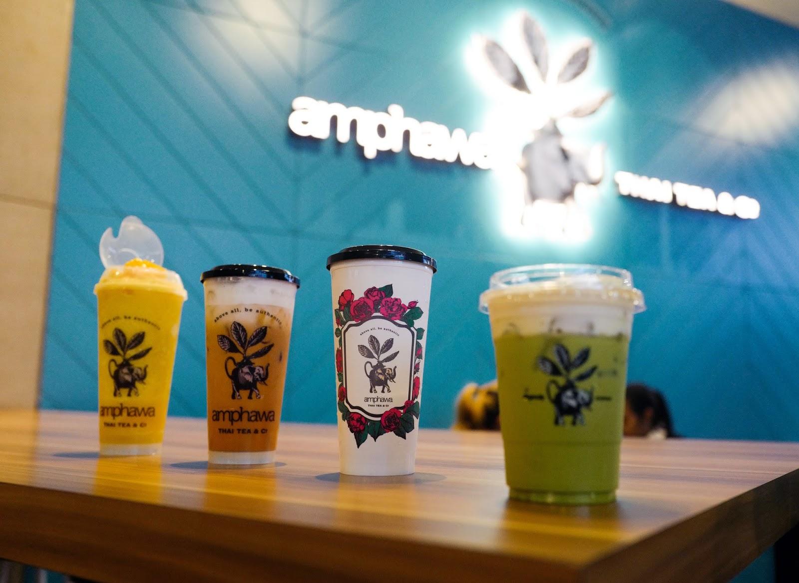 amphawa thai tea & co kl @ mid valley