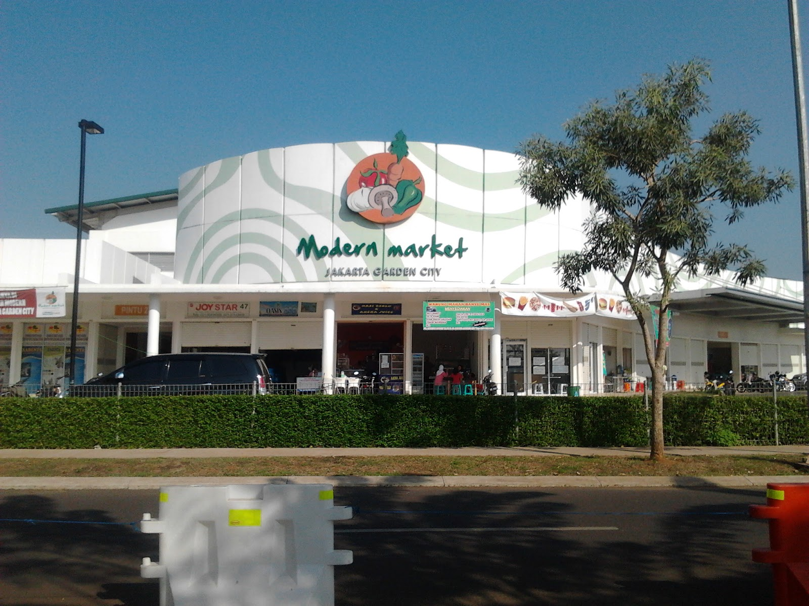 Blog Mang Nana Pasar Modern Aman Nyaman Bersih Dan Murah Di Jakarta Garden City