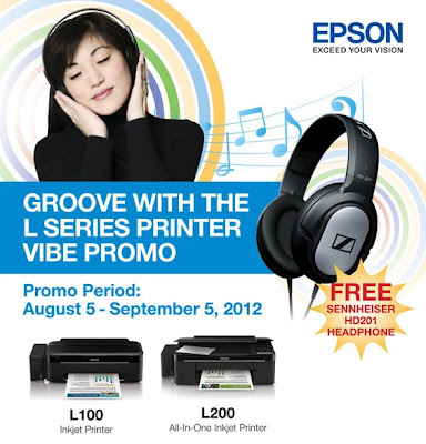 Groove with the Epson L-Series Printer Vibe Promo