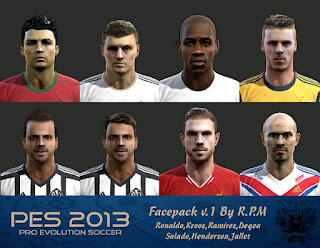 Facepack 2016 v.1 Pes 2013 By R.P.M