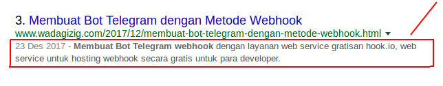 SEO on page Blogspot