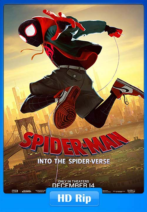 Spider Man Into the Spider Verse 2018 HDRip 720p x264 | 480p 300MB | 100MB HEVC