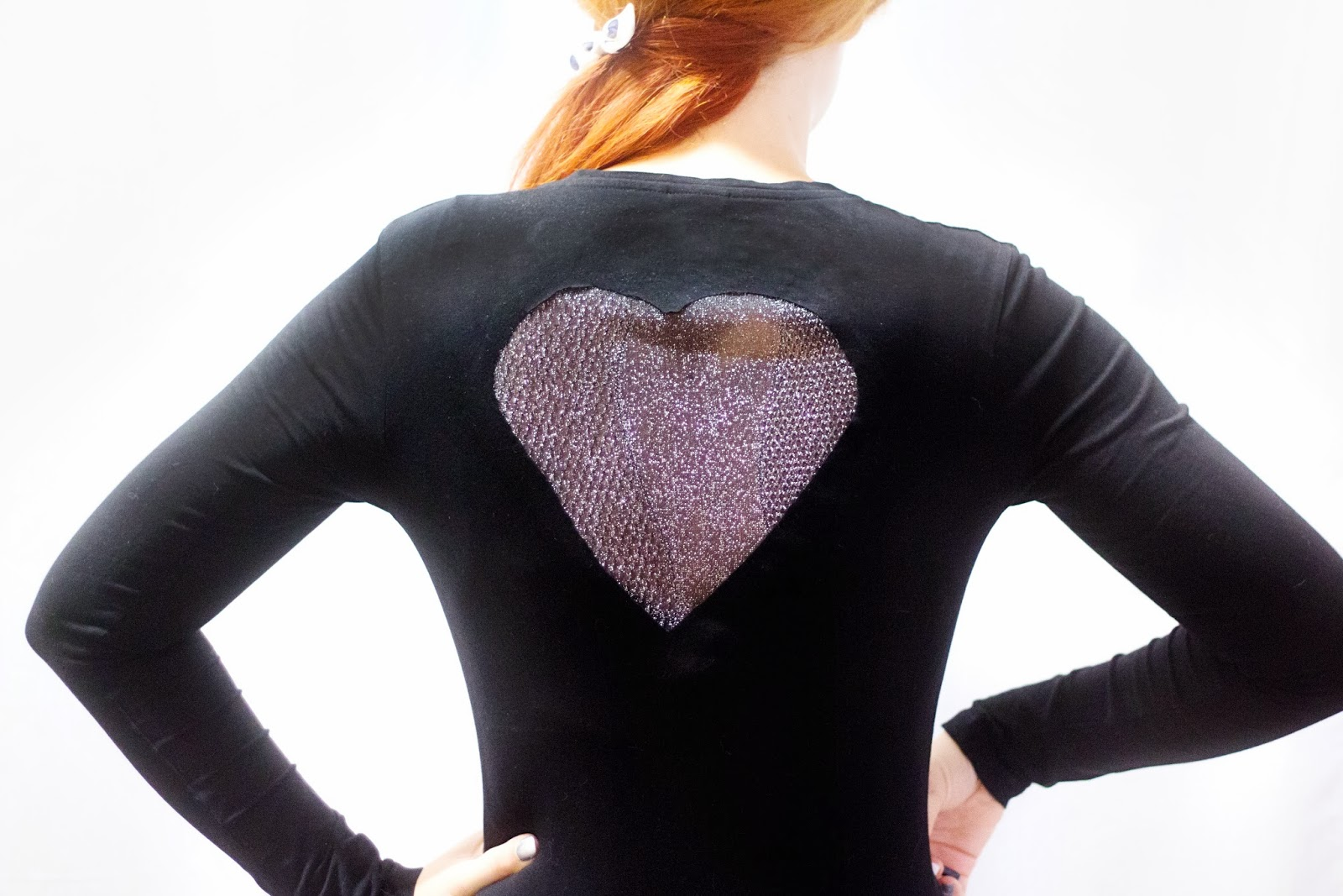 in a new york minute: Glitter Heart Back Shirt DIY by Lana ...
