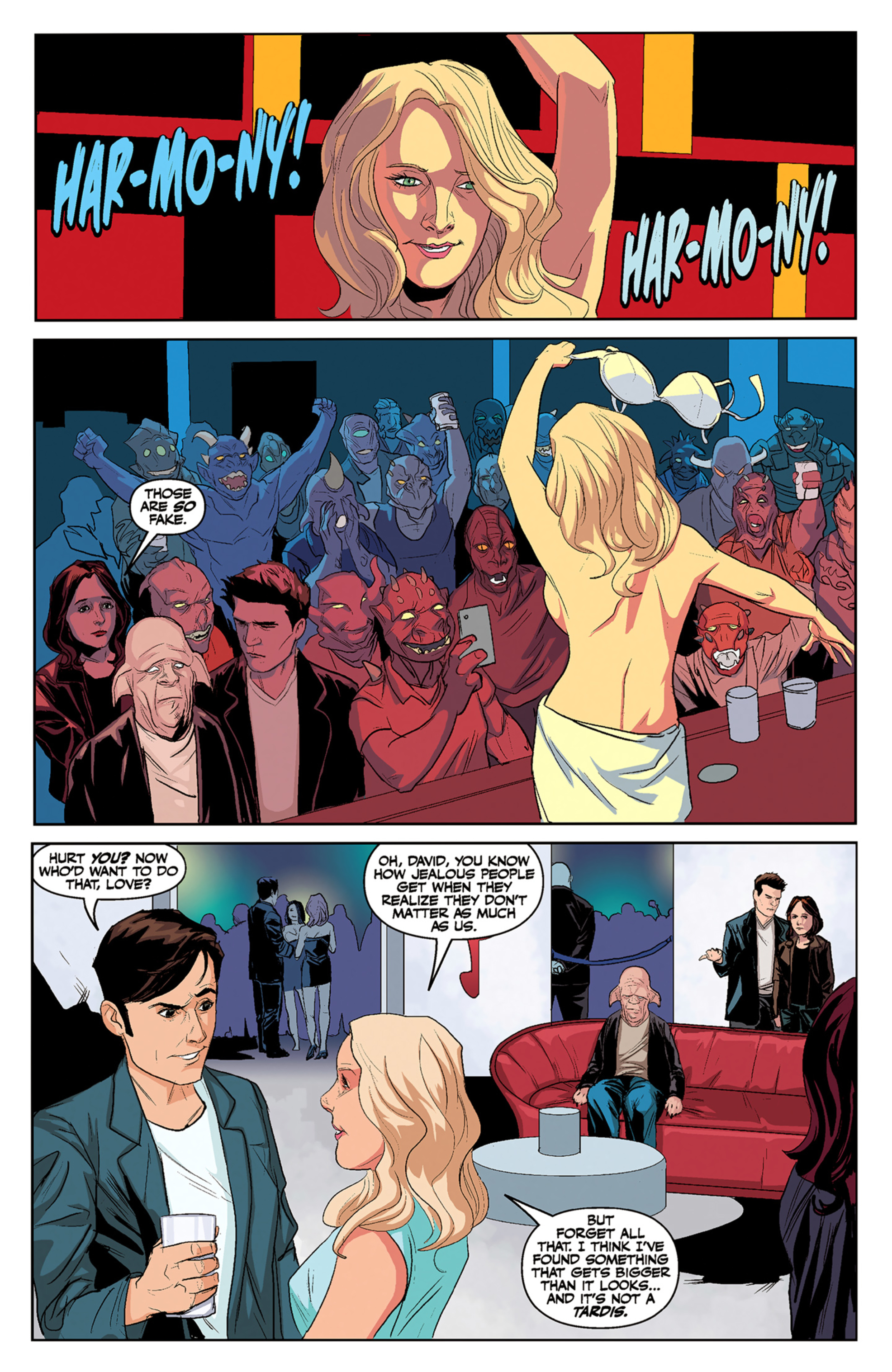 Read online Angel and Faith comic -  Issue #5 - 20